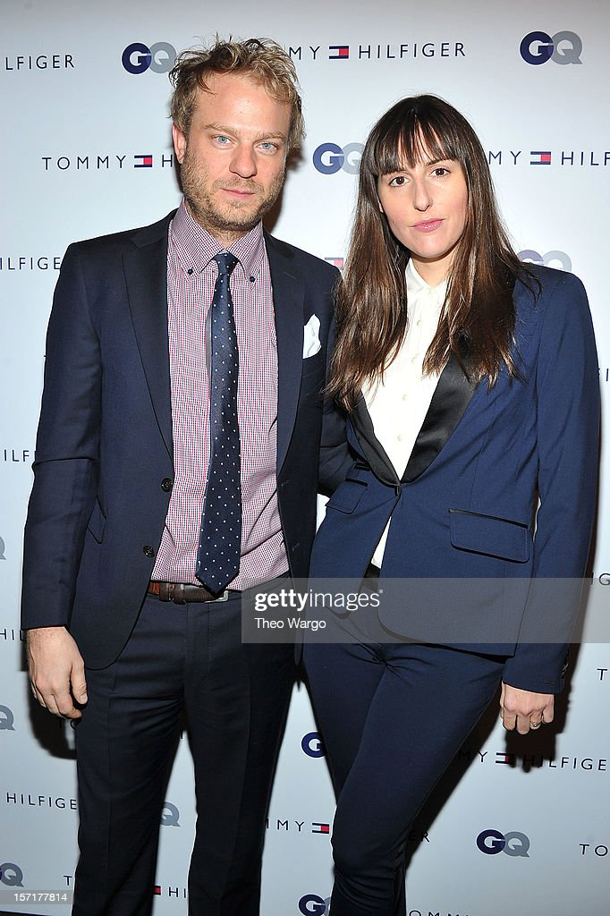 Colin Spoelma and filmmaker Ry Russo-Young attend the Tommy Hilfiger & GQ celebrate Men of New York at the 5th Avenue Flagship on November 29, 2012 in New York City.