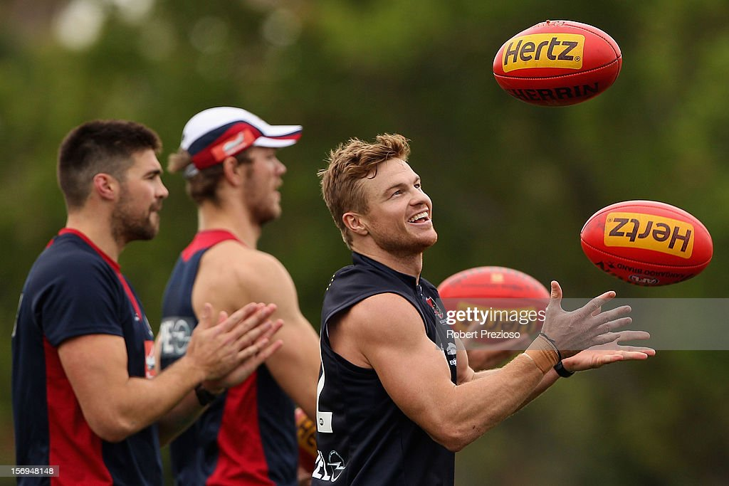 Melbourne Demons Training Session