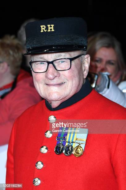 Colin Thackery attends the National Television Awards 2020 at The O2 Arena on January 28 2020 in London England