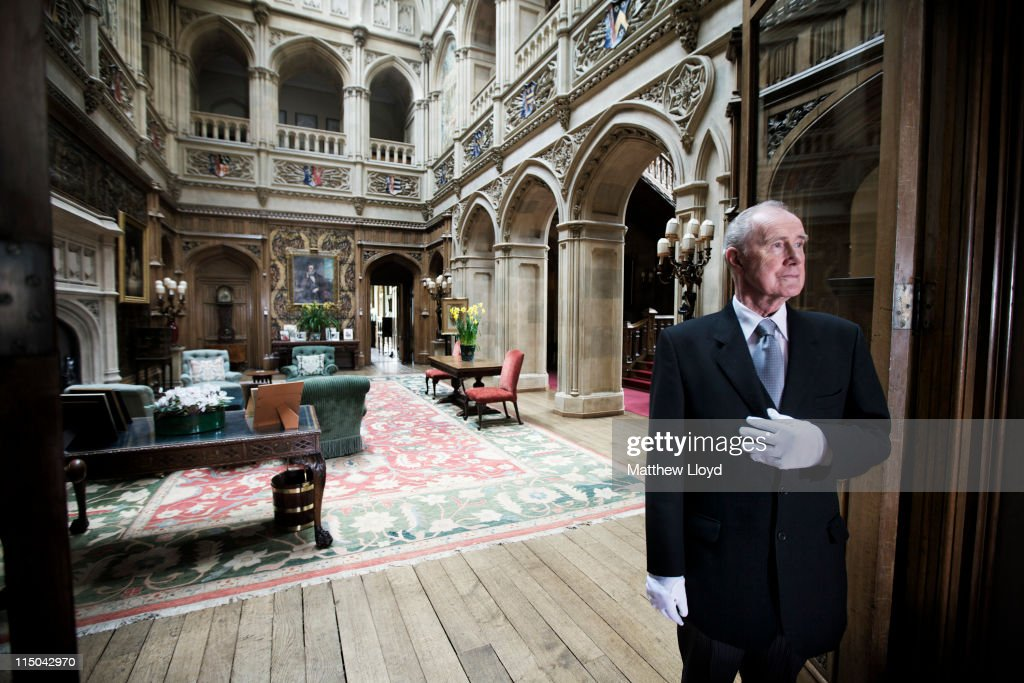 Daily Life At Highclere Castle Home To Television Program Downton Abbey : News Photo