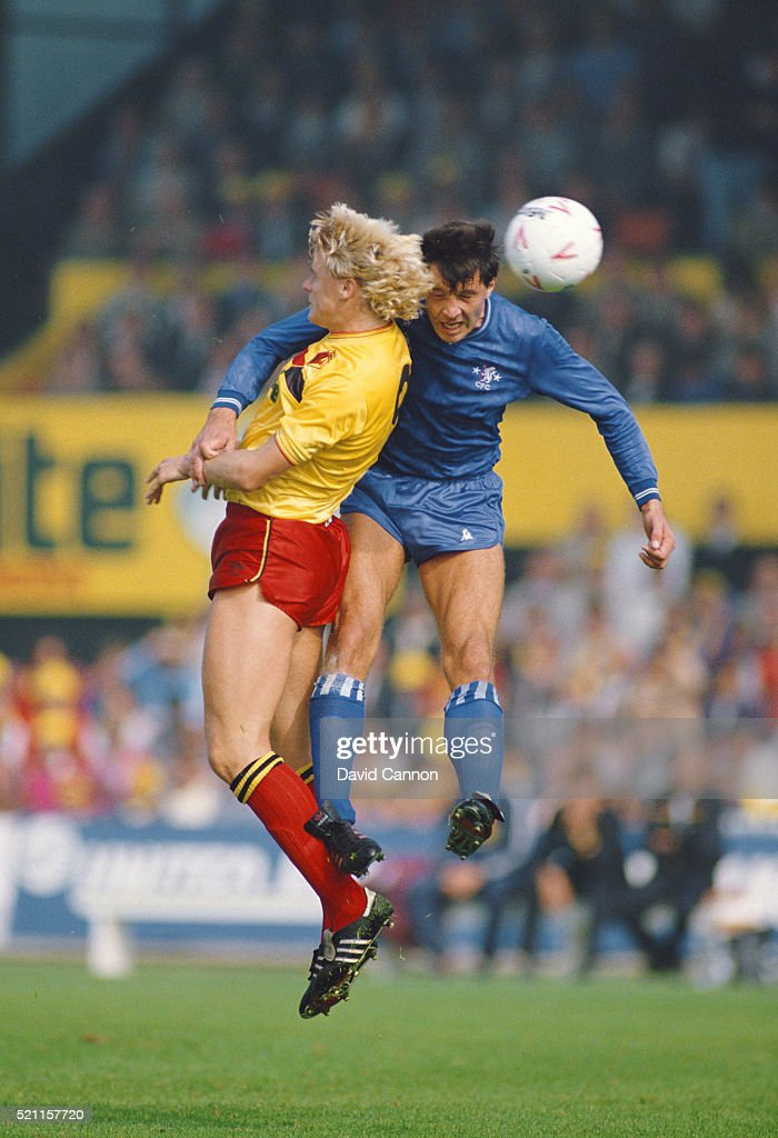 Watford v Chelsea Canon League Division One 1985 : News Photo