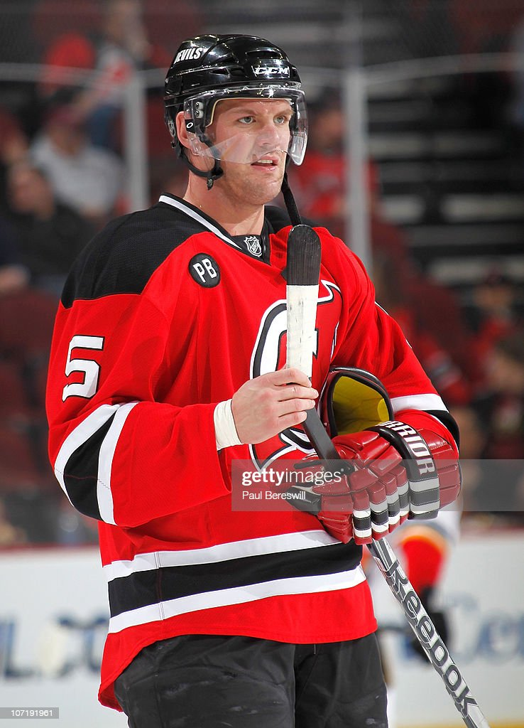 outlet store ec83b 56f01 Colin White of the New Jersey Devils during warmups before a ...