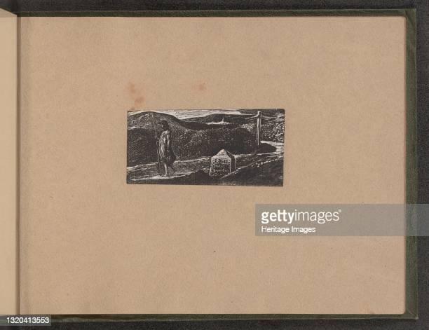 Colinet's Journey, 1821. Artist William Blake.