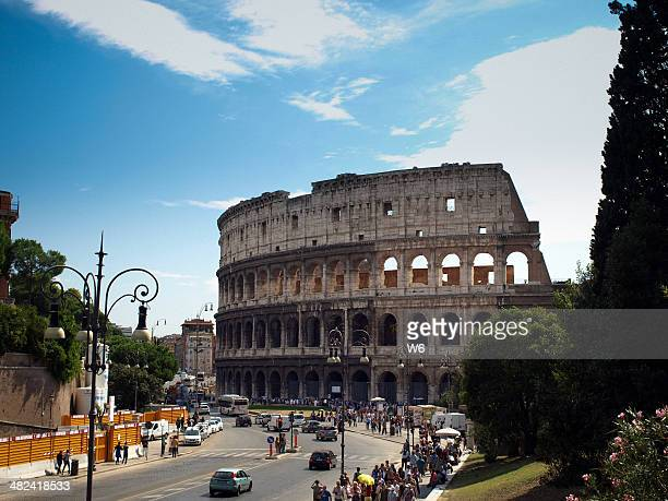 coliseum in rome - coliseum rome stock photos and pictures