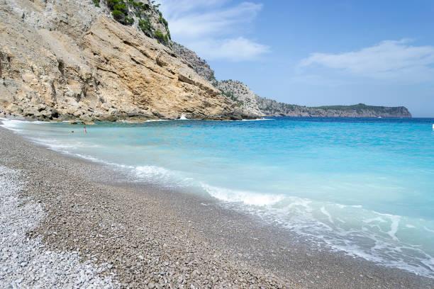 Coll baix beach in mallorca