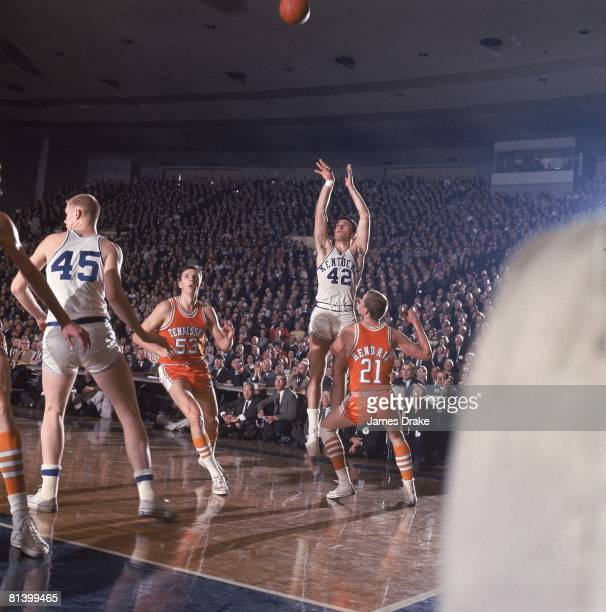 Coll Basketball Kentucky's Pat Riley in action vs Tennessee Louisville KY 2/26/1966