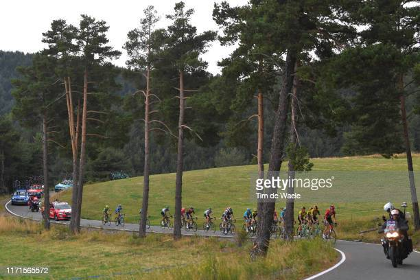 Coll de La Gallina / Peloton / Landscape / during the 74th Tour of Spain 2019, Stage 9 a 94,4km stage from Andorra la Vella to Alto Els Cortals...