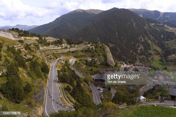 Coll De Ordino / Landscape / Peloton / Mountains / during the 73rd Tour of Spain 2018, Stage 20 a 97,3km stage from Escaldes-Engordany to Coll de la...