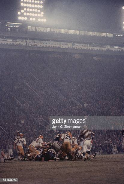 Coll Football Mississippi in action vs Louisiana State View of Tiger Stadium Baton Rouge LA 11/1/1958