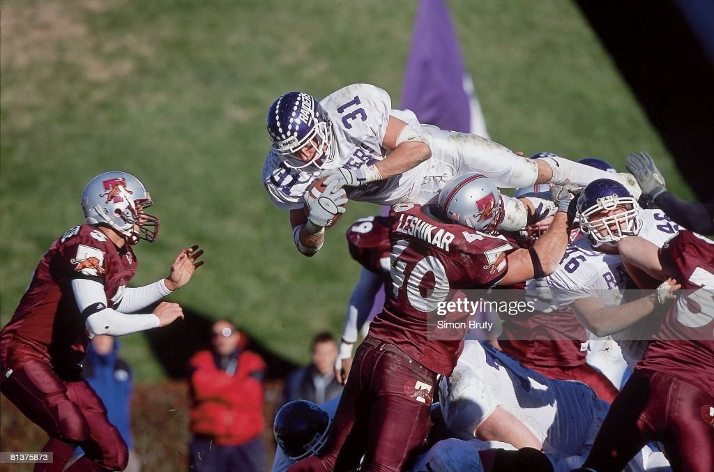 Division Iii Championships Mount Union S Dan Pugh In Action