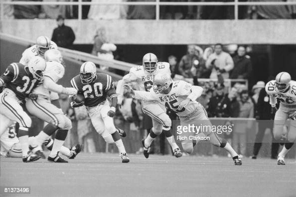 Nebraska's Johnny Rodgers in action vs Kansas State ...