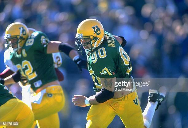 Coll Football Oregon's Josh Wilcox in action vs Arizona State Eugene OR