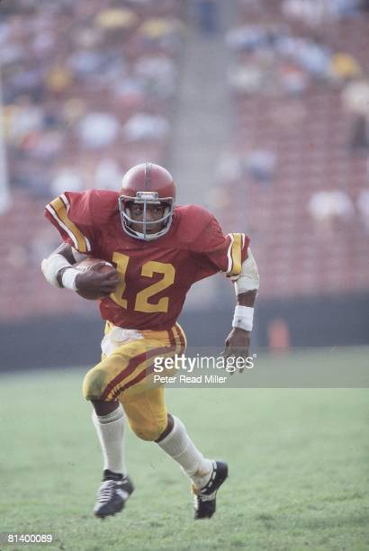 Coll Football USC's Charles White in action vs Oregon State Los Angeles CA