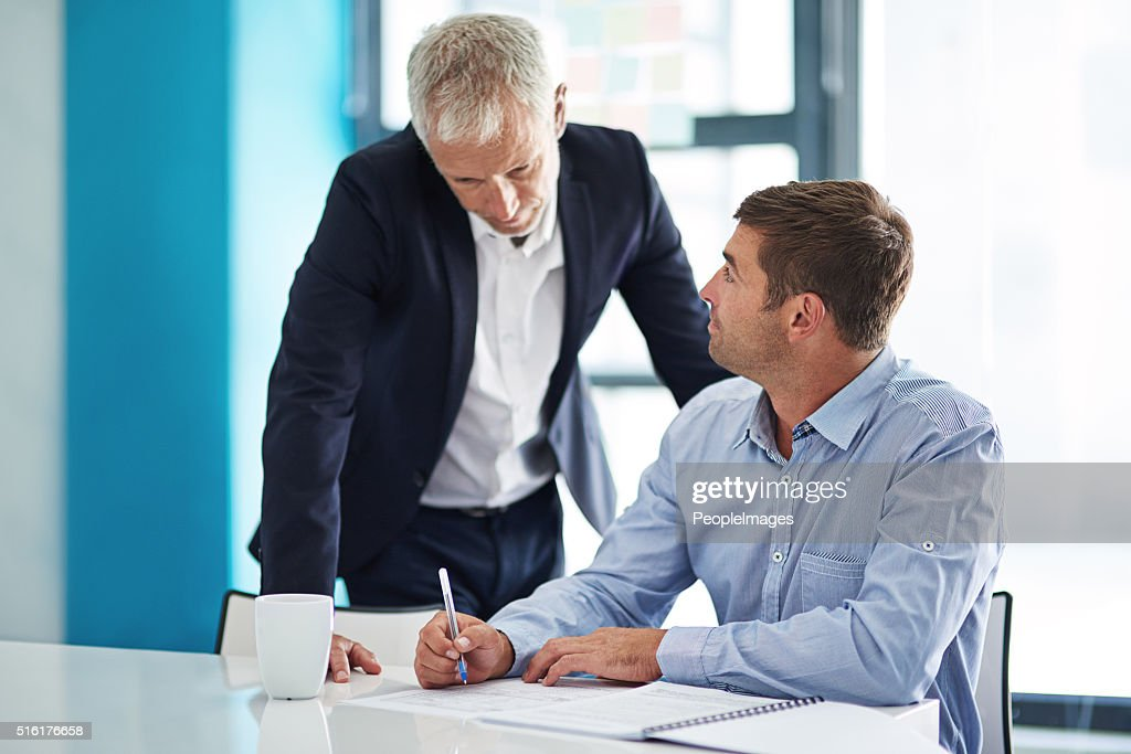 Collaborate with people you can learn from : Stock Photo