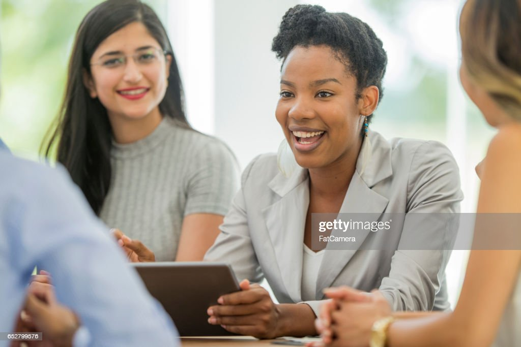 Collaborating on New Ideas : Stock Photo