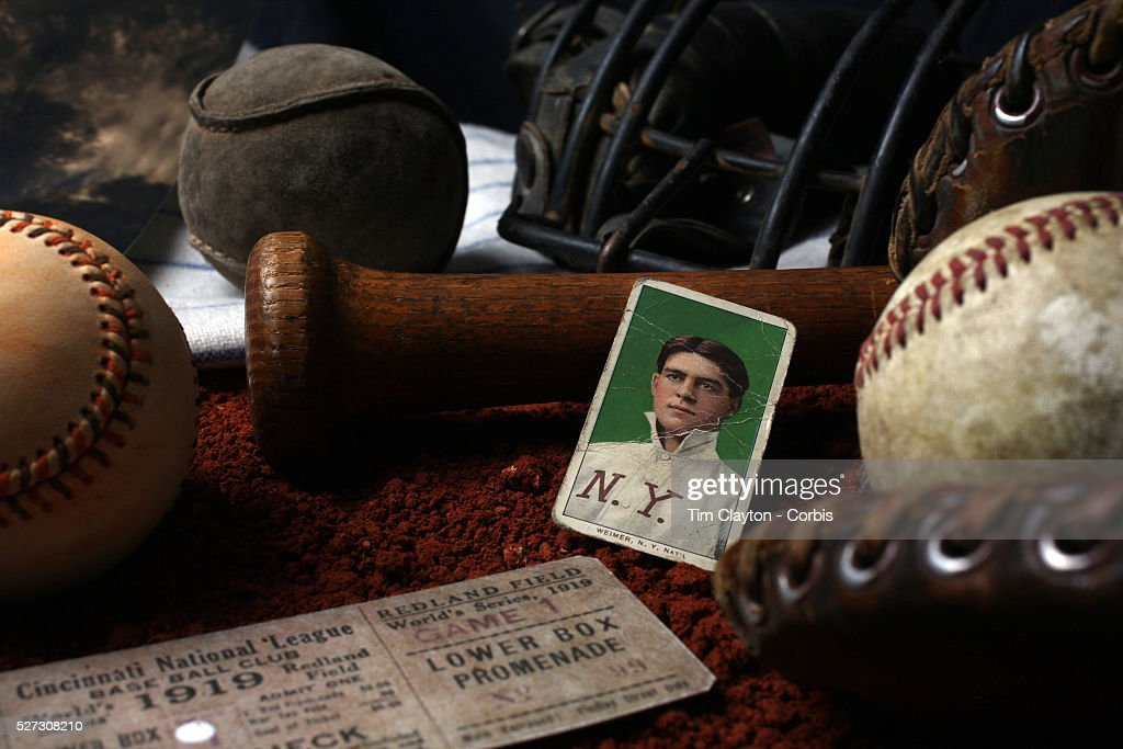 Antique Vintage Baseball Memorabilia and Collectables. : News Photo