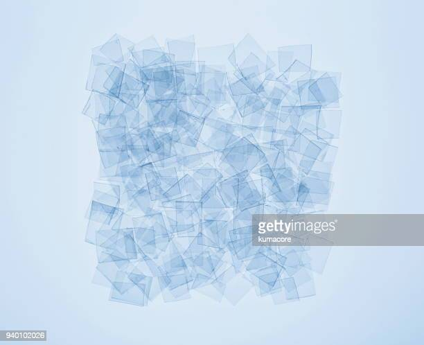 collage of the plastic bottle fragment - translucent stock pictures, royalty-free photos & images