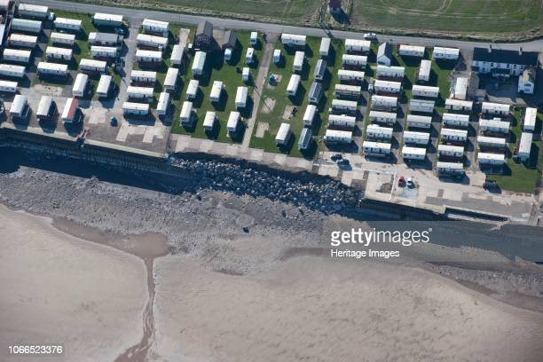 Collapse of sea wall defences at Ulrome Sands, East Riding of Yorkshire, 2014. Artist Historic England Staff Photographer.