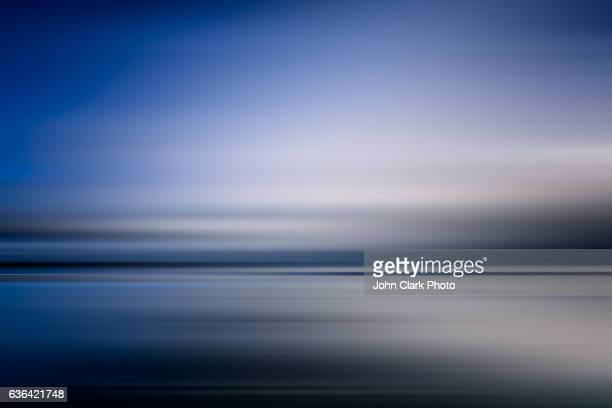 Collaroy blue dusk abstract