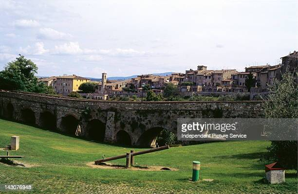 Colle di Val d'Elsa in Tuscany Italy