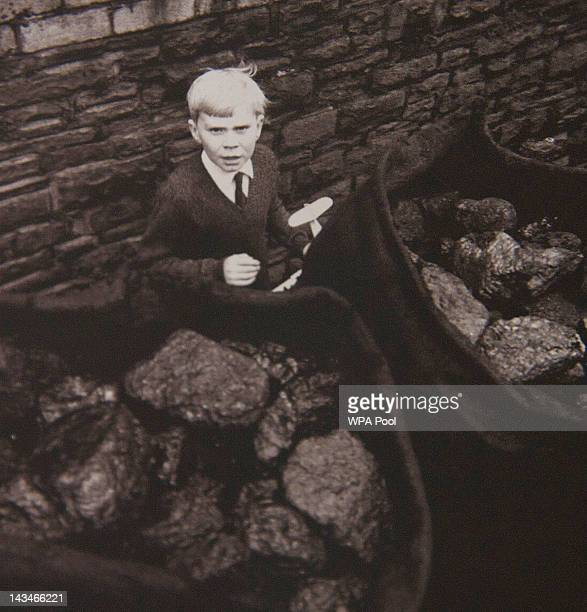 Collect picture of Jeff Edwards survivor and last child to be rescued from the 1966 Aberfan disaster photographed a few days after being rescued...