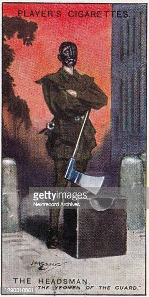 Collectible illustrated tobacco card from the Gilbert and Sullivan Series from 1925 - 1927 distributed by British cigarette and tobacco manufacturer...