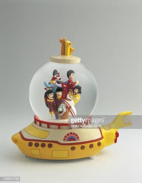 Collecting Snowglobes Beatles Yellow Submarine Gadget