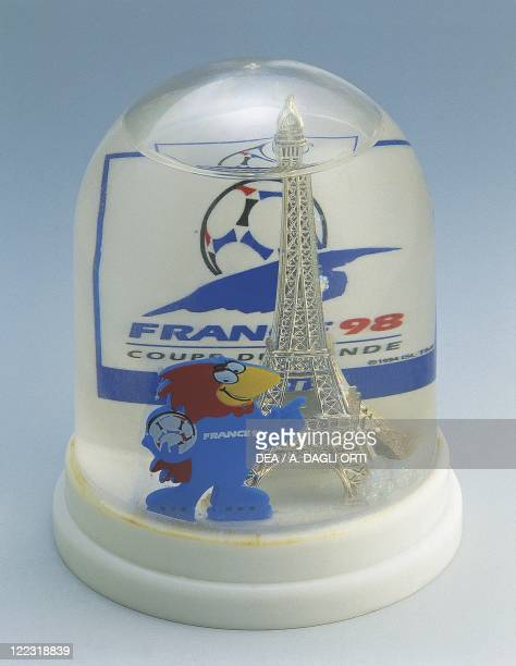 Collecting Snowglobes France 1998 FIFA World Championship Mascot Plastic
