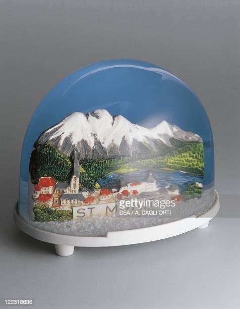 Collecting Snowglobes Switzerland Souvenir St Moritz