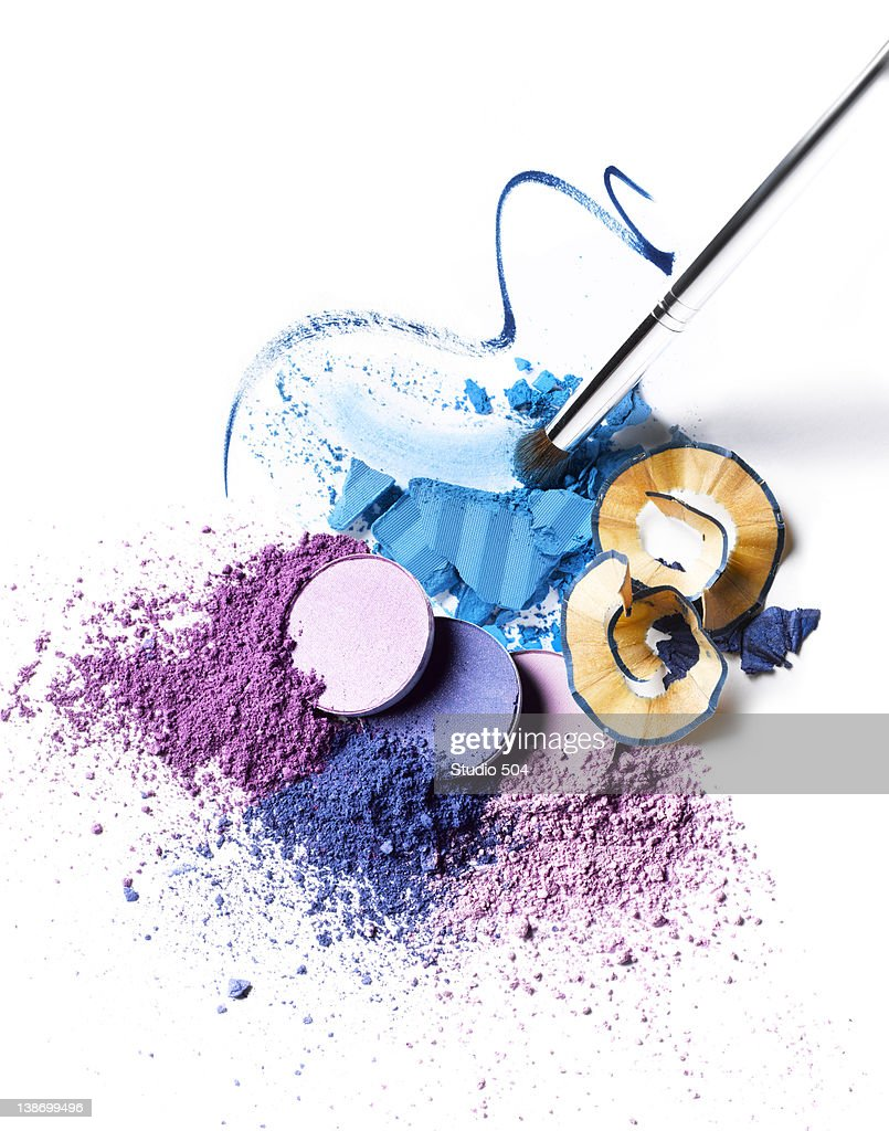 A collection of cosmetics : Stock Photo