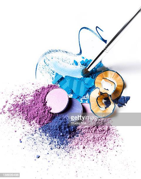 a collection of cosmetics - cosmetics stock pictures, royalty-free photos & images