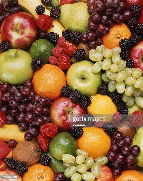 A collection of different fruits