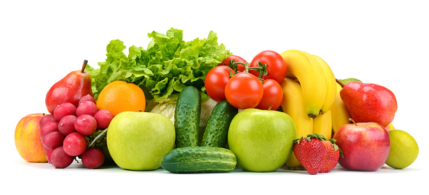 Collection of fruits and vegetables 918304652