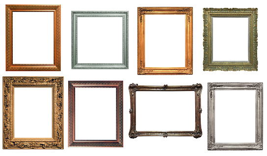 Collection of isolated frames 929769160