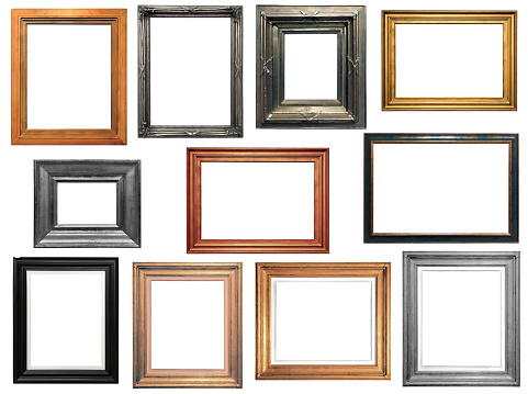 Collection of isolated frames 929769168