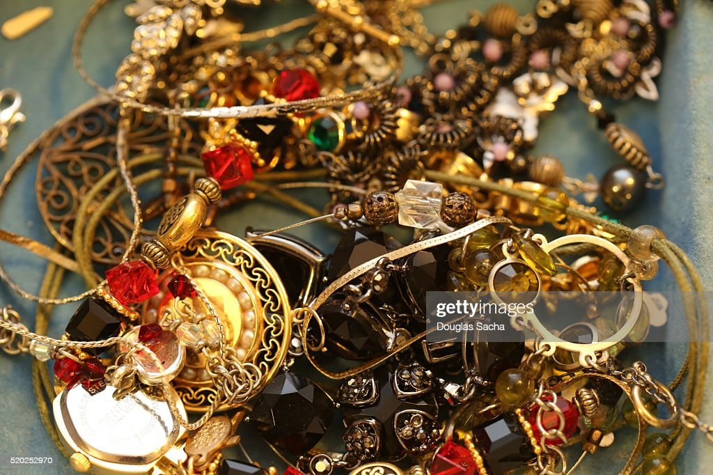 Collection of Jewelry : Stock Photo