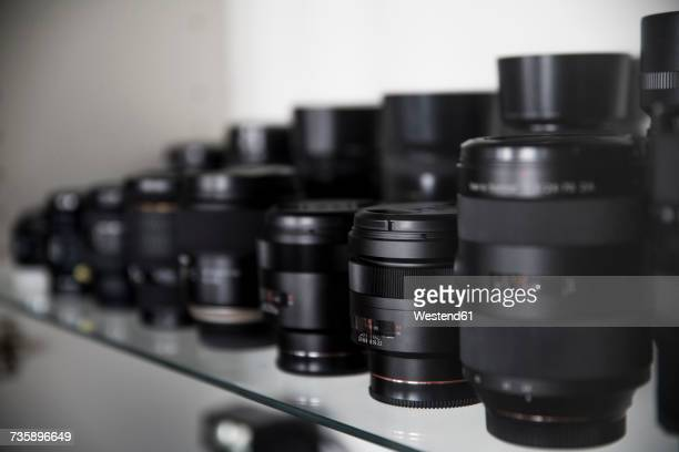 Collection of lenses for reflex cameras