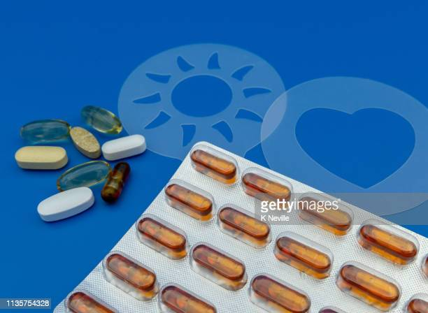 collection solid liquid filled pills nutritional