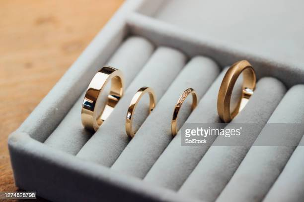 collection of rings - jewellery stock pictures, royalty-free photos & images