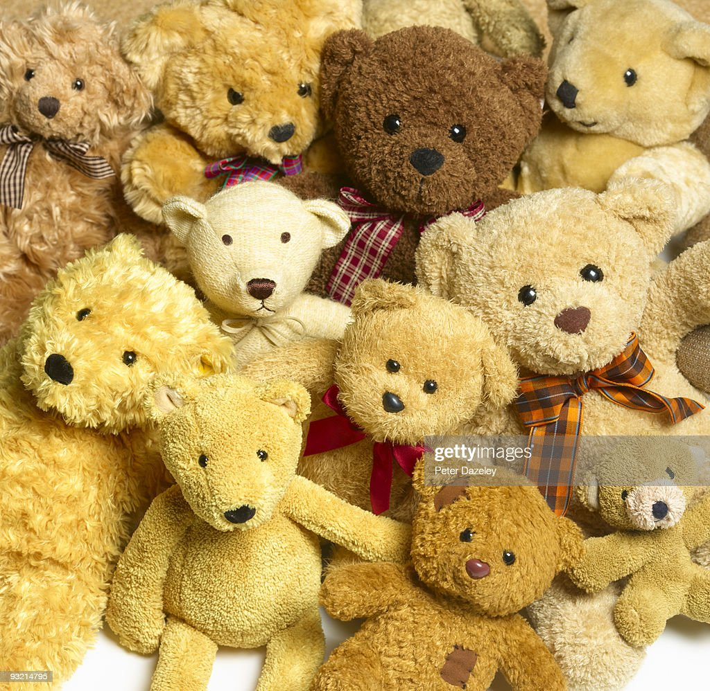 Image result for a collection of teddy bears