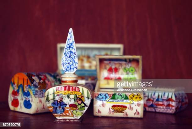 Collection of Turkish Painted Boxes