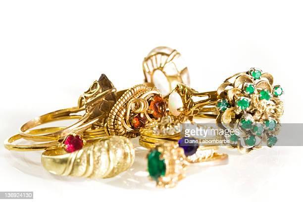 Sammlung von Vintage-Ringe