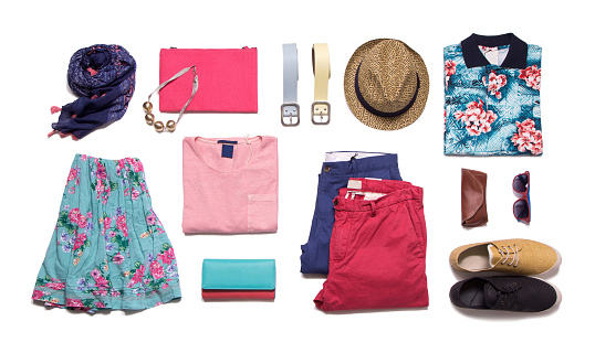Collection summer clothes 964673952