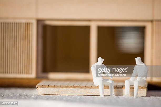 Collective apartment model