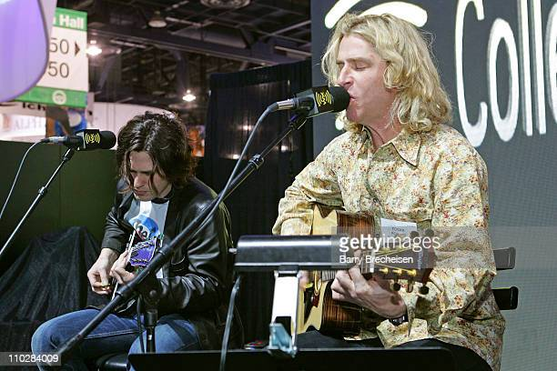 Collective Soul during 2006 International Consumer Electronics Show XM Satellite Radio Booth at Las Vegas Convention Center in Las Vegas Nevada...
