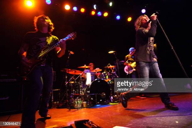 Collective Soul during Kickoff Party for Rockstar Supernova with Collective Soul at Bowery Ballroom in New York City New York United States