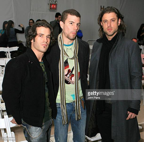 Collective Soul during Olympus Fashion Week Fall 2006 Custo Barcelona Front Row and Backstage at Bryant Park in New York City New York United States