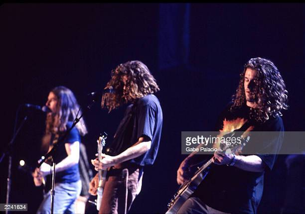 Collective Soul on stage at Woodstock 94 in Saugerties, New York on August 14, 1994.