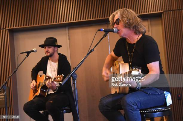 Collective Soul performs onstage at the Corporate 360 Special Session for Corporate Buyers panel during the IEBA 2017 Conference on October 16 2017...