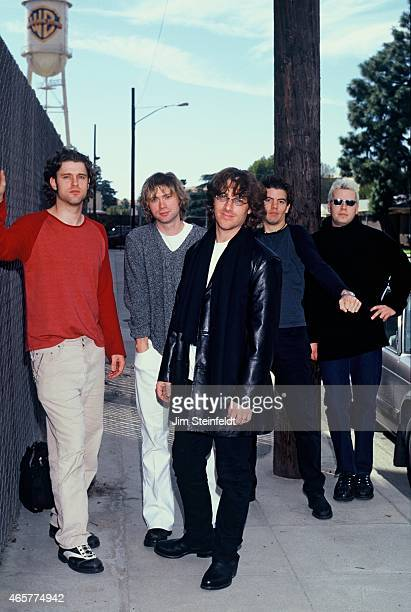 Collective Soul poses for a portrait at Warner Bros studio in Burbank California on February 11 1999